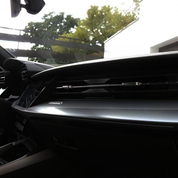 1 Set Aluminium Dekorblenden für die Lüftungseinheit auf der Beifahrerseite
