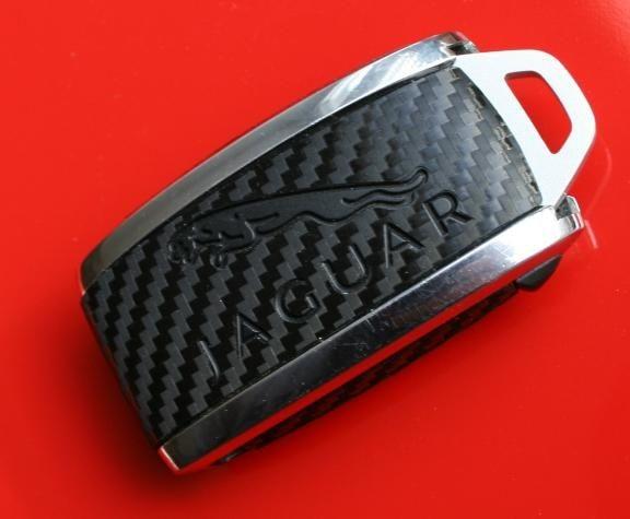 #2 Schlüsselfolie in Carbonoptik Jaguar Modelle