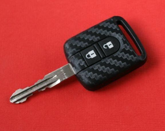 #1 Schlüsselfolie in Carbonoptik Nissan Modelle