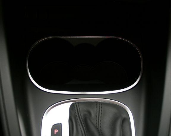 1 Aluminium Dekorrahmen für den Becherhalter