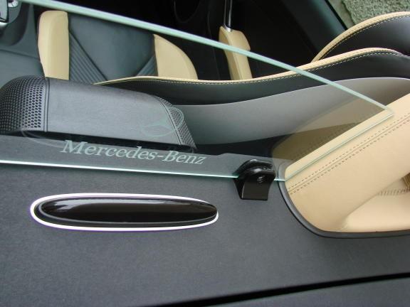 1 Aluminium Dekorrahmen für den Parktronic-System-Sensor hinten