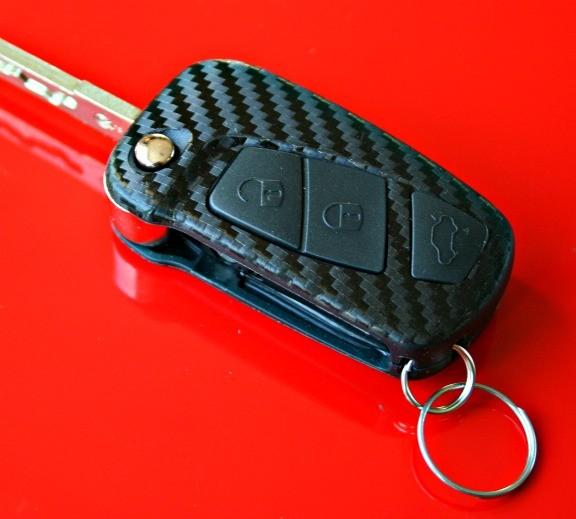 #10 Schlüsselfolie in Carbonoptik Ford Modelle