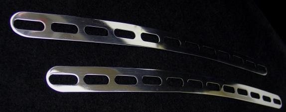 1 Set Aluminium Dekorrahmen für die Defrosterdüsen