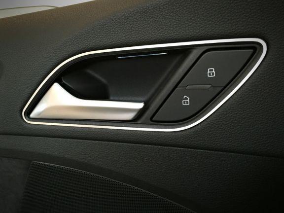 1 Set Aluminium Dekorrahmen für die Türöffner (nur Sportback und Limousine)
