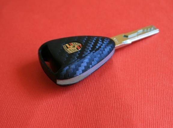 #3 Schlüsselfolie in Carbonoptik Porsche Modelle Boxster