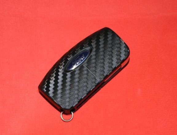 #6 Schlüsselfolie in Carbonoptik Ford Modelle Key Free