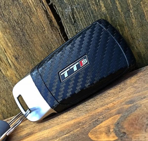 #7 Schlüsselfolie in Carbonoptik Audi S und RS Modelle