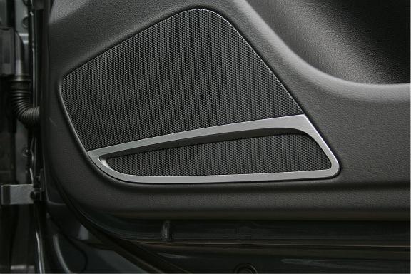 1 Set Aluminium Dekorrahmen für die Lautsprecher vorne (nicht für Sportback)
