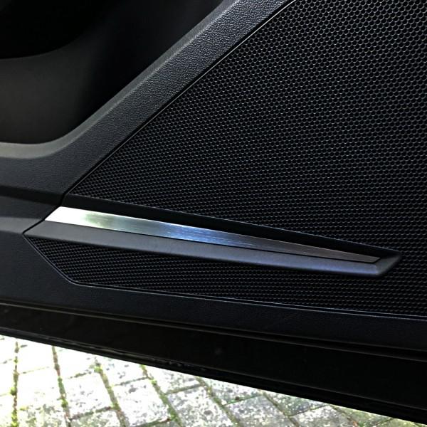 1 Satz Aluminium Dekorblenden für die Lautsprecher in den Türen vorne