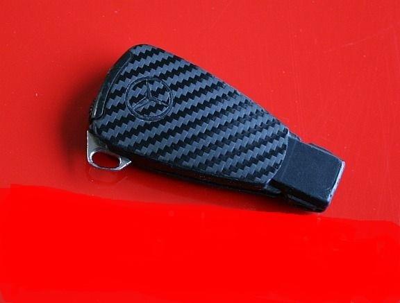 #3 Schlüsselfolie in Carbonoptik Mercedes Modelle