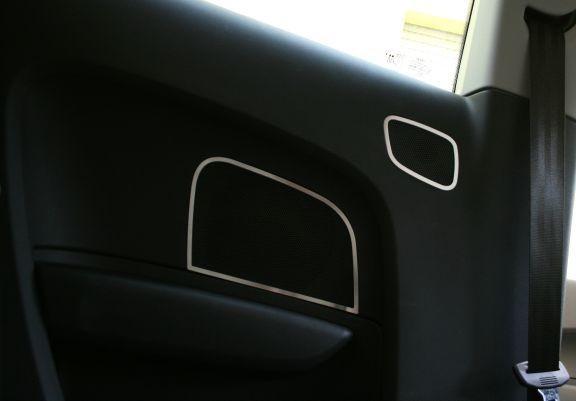 1 Set Aluminium Dekorrahmen für Lautsprecher hinten