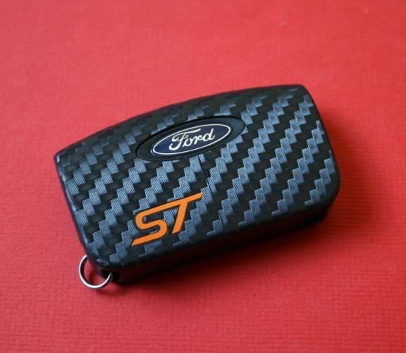 #7 Schlüsselfolie in Carbonoptik Ford Modelle ST Key Free