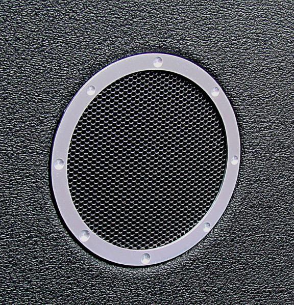 1 Set Aluminium Dekorringe für die Hochtöner im TT Design
