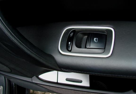 1 Set Aluminium Dekorrahmen für die Fensterheber hinten