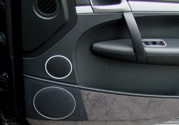 1 Set Aluminium Dekorringe für die Lautsprecher vorne