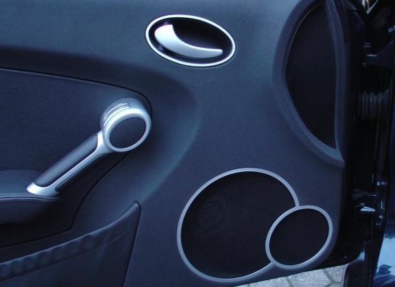 1 Set Aluminium Dekorrahmen für die Lautsprecher