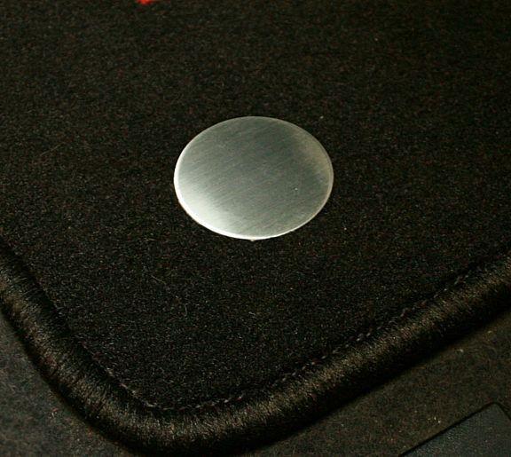 1 Set Aluminium Dekorblenden für die Fussmatten