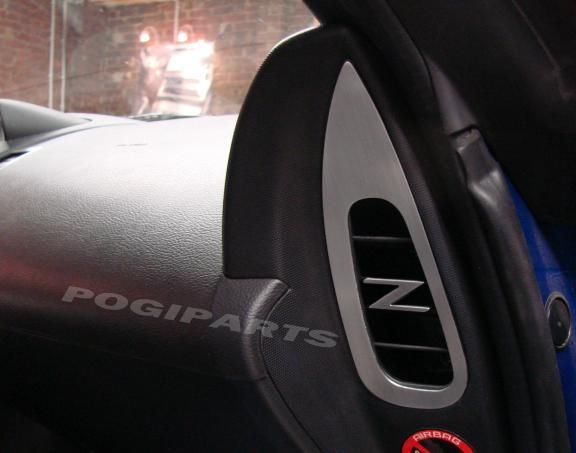 1 Set Aluminium Dekorrahmen für den Luftdurchlass an den Türen