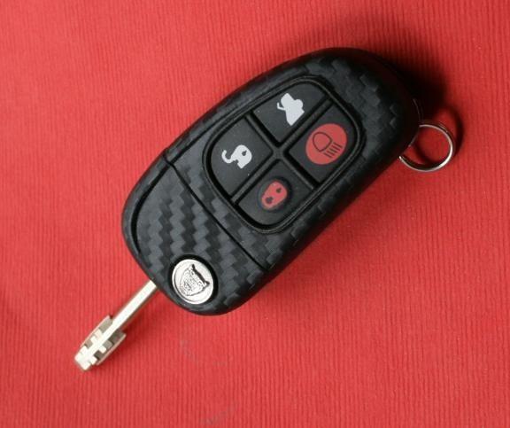 #1 Schlüsselfolie in Carbonoptik Jaguar Modelle