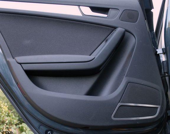 1 Set Aluminium Dekorrahmen für die Lautsprecher hinten