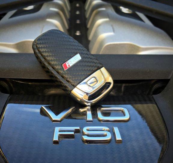 #10 Schlüsselfolie in Carbonoptik Audi R8