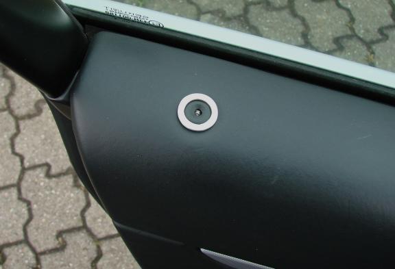 1 Set Aluminium Dekorringe die Türsensoren