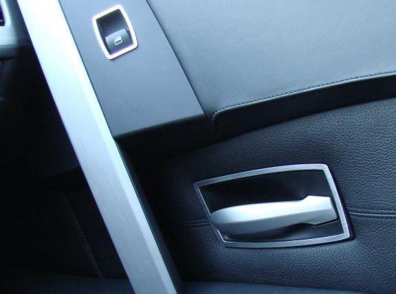 1 Set Aluminium Dekorrahmen für die Türöffner