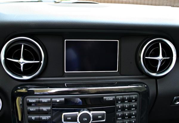 1 Aluminium Dekorrahmen für das Display Audio 20