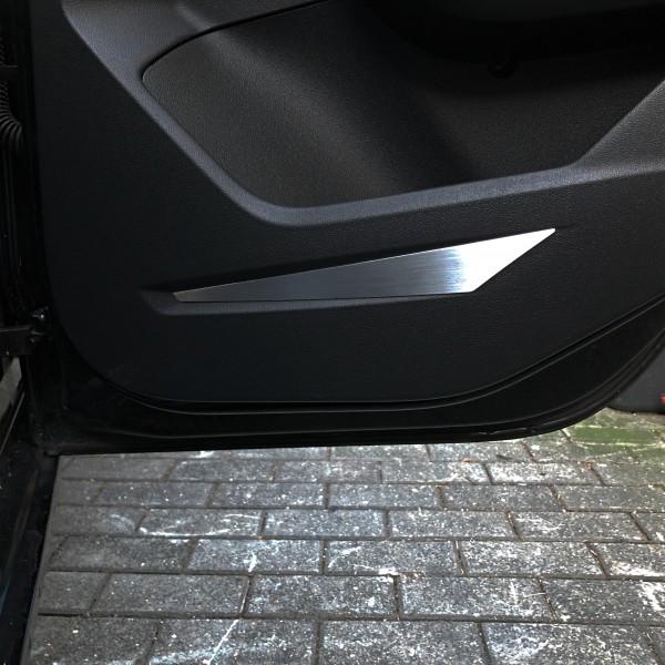 1 Satz Aluminium Dekorblenden für die Türen hinten