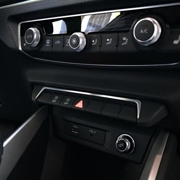 1 Aluminium Dekorrahmen Schalterleiste
