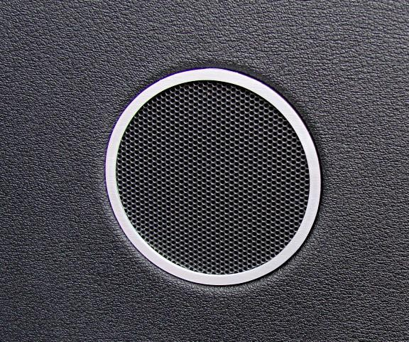 1 Set Aluminium Dekorringe für die Hochtöner