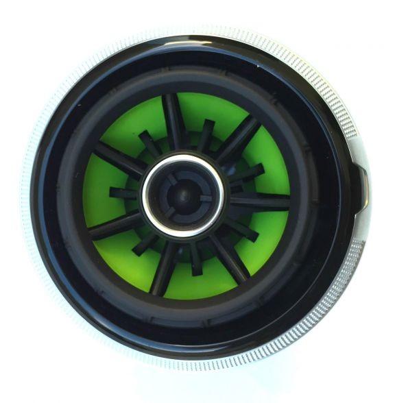 Beklebeset Grün für die Lüfterdüsen in RS LOOK