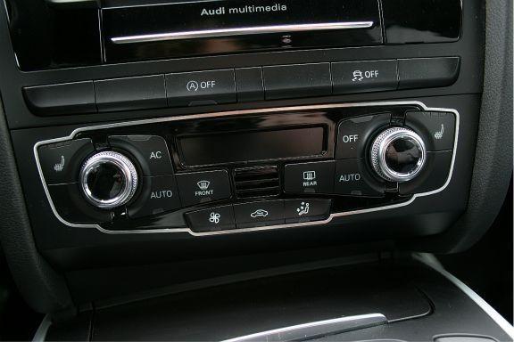 1 Aluminium Dekorrahmen für die Klimaautomatik (nur Facelift)