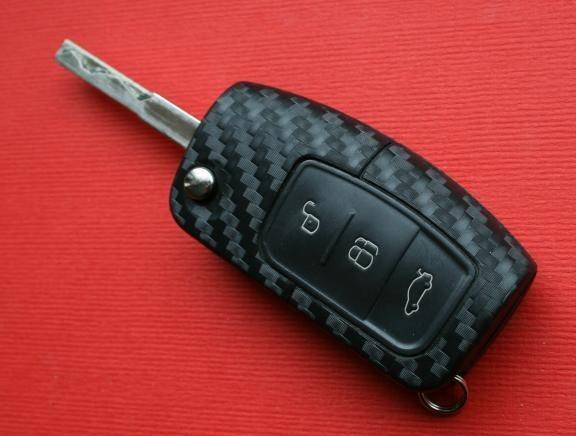 #3 Schlüsselfolie in Carbonoptik Ford Modelle
