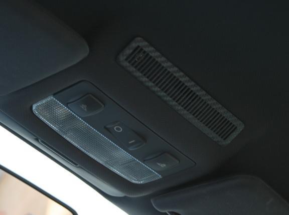 1 Foliendekor in Carbonoptik für Innenraumüberwachung