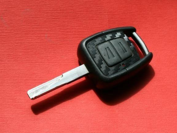 #1 Schlüsselfolie in Carbonoptik Opel Modelle