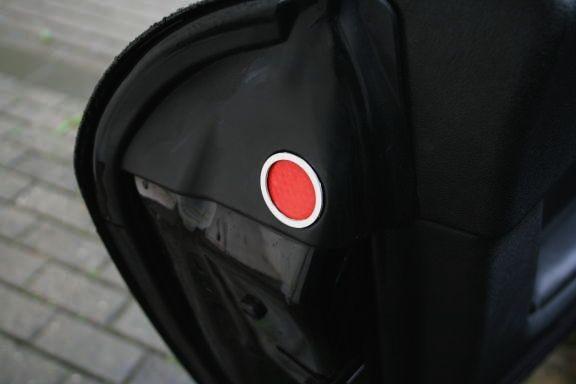 1 Set Aluminium Dekorringe für die Reflektoren in den Türen