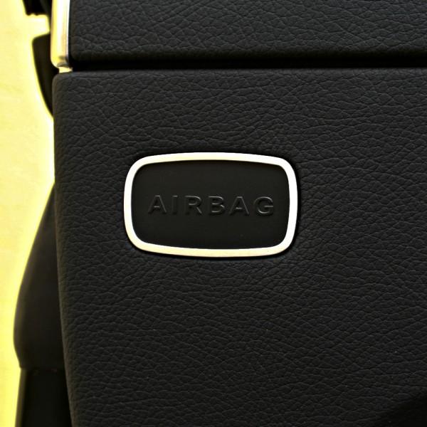 1 Set Aluminium Dekorrahmen für die Airbagschilder