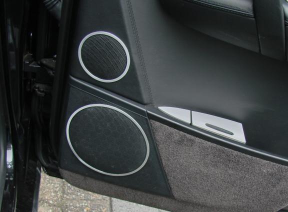1 Set Aluminium Dekorringe Lautsprecher hinten