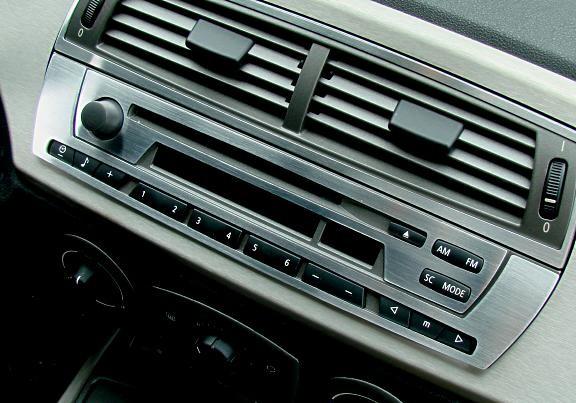 1 Set Aluminium Dekorblende für das Radio / Business CD Radio