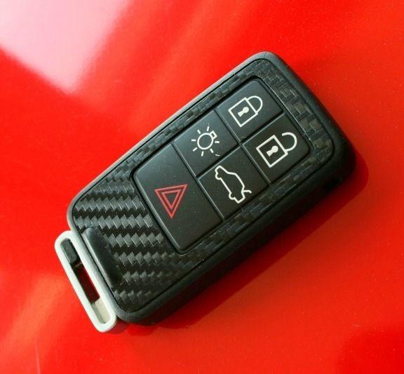 #2 Schlüsselfolie in Carbonoptik Volvo Modelle