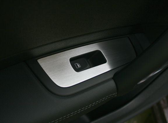 1 Set Aluminium Dekorrrahmen für die Fensterheber hinten (nur Sportback)