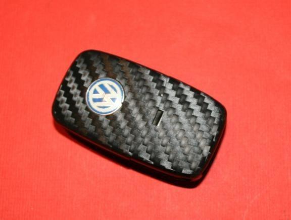 #2 Schlüsselfolie in Carbonoptik VW Modelle ohne LED