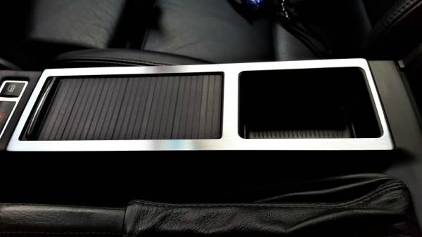 1 Aluminium Dekorrahmen für die Mittelkonsole