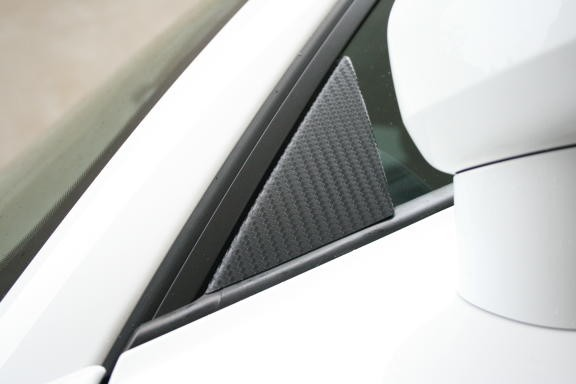 Carbonbeschichtung Spiegeldreiecke außen