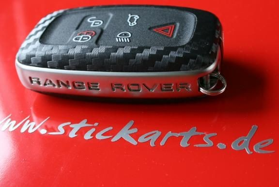 #1 Schlüsselfolie in Carbonoptik Range Rover Modelle