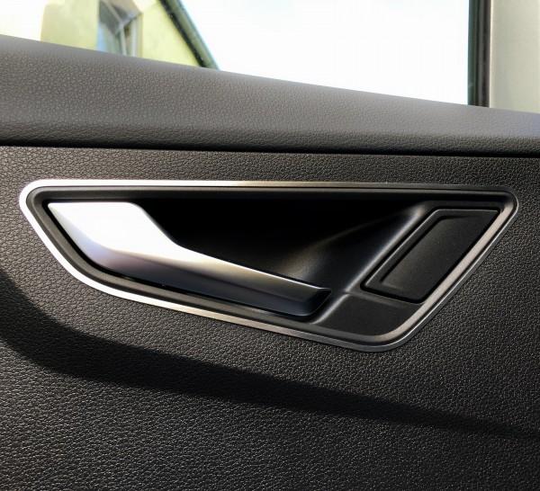 1 Set Aluminium Dekorrahmen für die Türöffner hinten