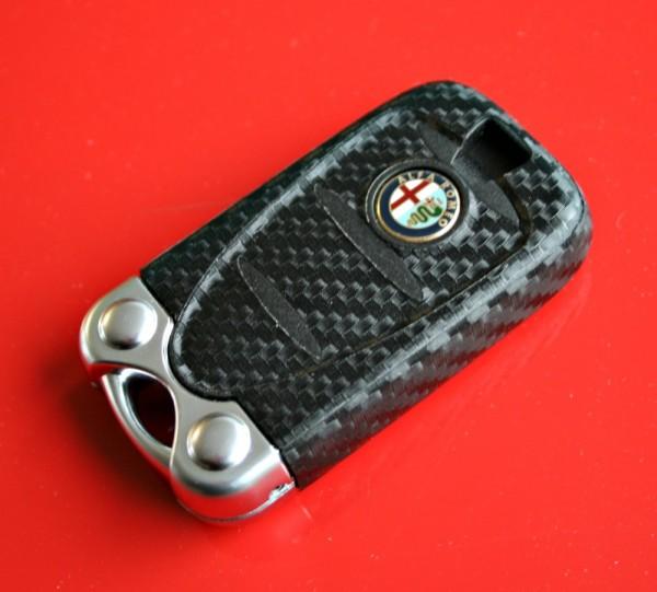 #2 Schlüsselfolie in Carbonoptik Alfa Romeo Modelle