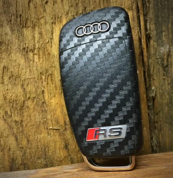 #9 Schlüsselfolie in Carbonoptik Audi RS Modelle