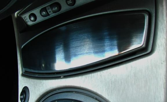 1 Aluminium Dekorblenden für den Aschenbecher
